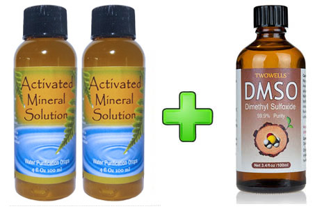 CDS Solution Double Pack + 1 Bottle of DMSO...