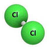 Molecule of Chorine